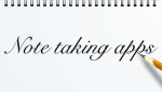 Logo van het artikel Note-taking-apps op appadvice.com