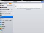 screenshot trefwoordoptie iPad met iOS5