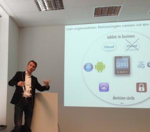 Peter van Loevezijn presentatie Je iPad als mobiel kantoor mrt 2013