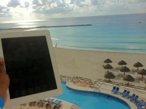 ipad beach